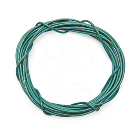 22 AWG Wire By-The-Foot: Green