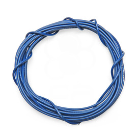 22 AWG Wire By-The-Foot: Blue