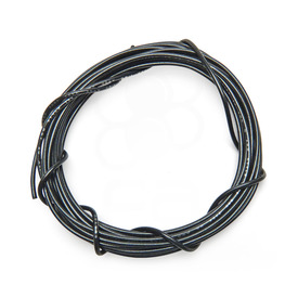 22 AWG Wire By-The-Foot: Black