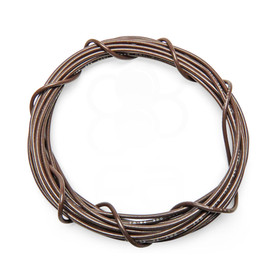 22 AWG Wire By-The-Foot: Brown