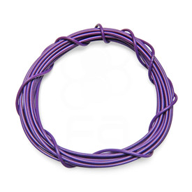 22 AWG Wire By-The-Foot: Purple