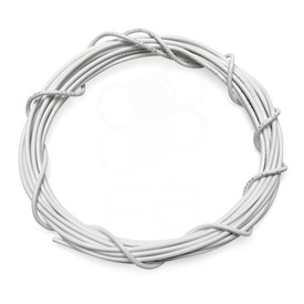 22 AWG Wire By-The-Foot: White