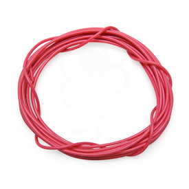 22 AWG Wire By-The-Foot: Pink