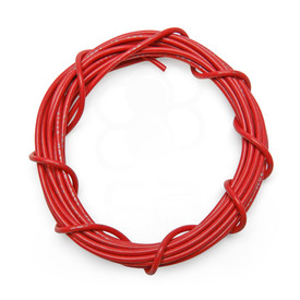 18 AWG Wire By-The-Foot: Red