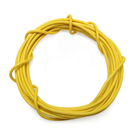 18 AWG Wire By-The-Foot: Yellow