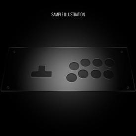 Blank Plexi Cover for MixBox Arcade Panel
