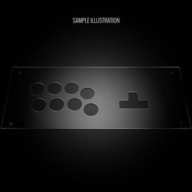 Blank Plexi Cover for MixBox Arcade Reverse Panel