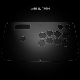 Blank Plexi Cover for Hori RAP 3 Tekken Series (Kai)