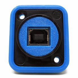 Neutrik NAUSB Surround and Support - Blue