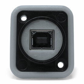 Neutrik NAUSB Surround and Support - Grey