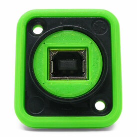 Neutrik NAUSB Surround and Support - Green