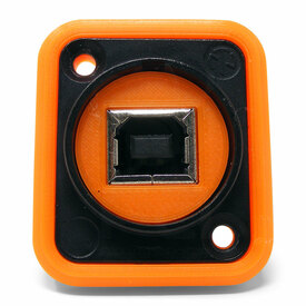Neutrik NAUSB Surround and Support - Orange