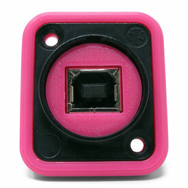 Neutrik NAUSB Surround and Support - Pink