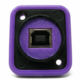 Neutrik NAUSB Surround and Support - Purple