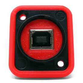 Neutrik NAUSB Surround and Support - Red