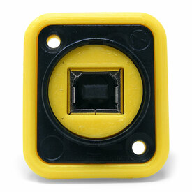 Neutrik NAUSB Surround and Support - Yellow