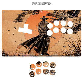 "Artwork Print and Cut for AllFightSticks 14"" WASD Stickless Panel"