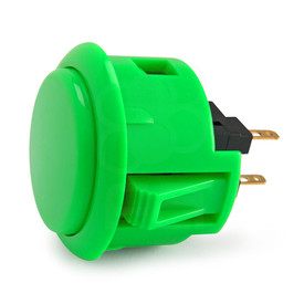 Sanwa OBSF 30mm Pushbuttons Green