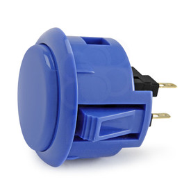 Sanwa OBSF 30mm Pushbuttons Dark Blue