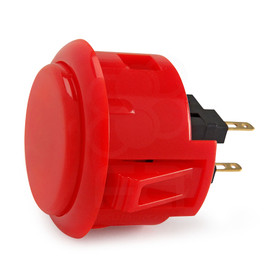Sanwa OBSF 30mm Pushbuttons Dark Red