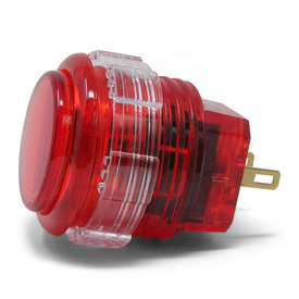 Crown/Samducksa SDB-202C MX 24mm Translucent Screwbutton Red