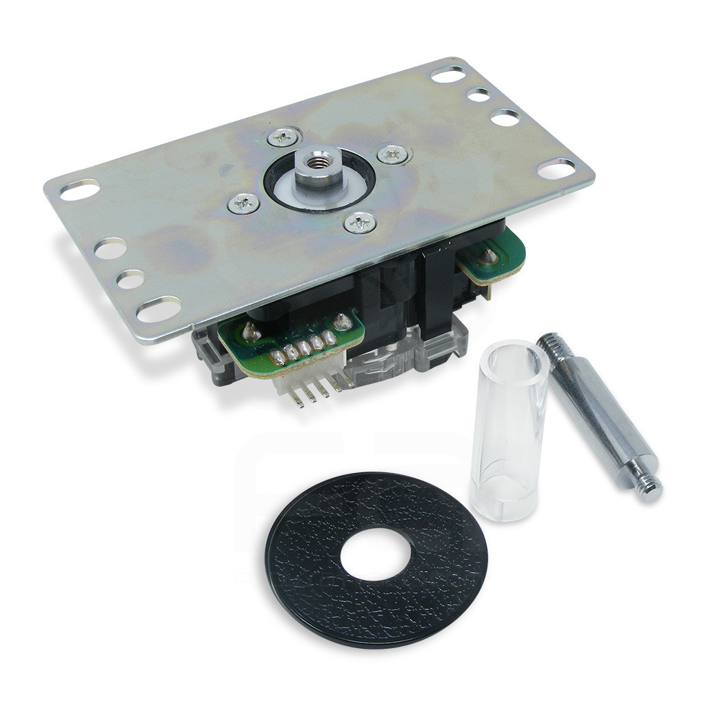 Compatible with the JLFD-TP-8YT Detachable Joystick Lever (available separately) Not compatible with the Sanwa JLF-TP-8YT Joystick, Sanwa JLF-TP-8Y-SK Joystick (No Plate Installed), or Sanwa JLF-TPRG-8BYT-SK Higher Tension Silent Microswitch Joystick.