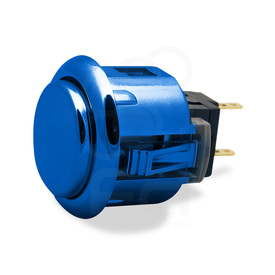 Sanwa OBSJ 24mm Pushbutton Metallic Blue