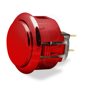 Sanwa OBSJ 30mm Pushbutton Metallic Red