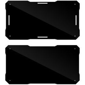 BNB Fightstick Gen 1 Black Gloss Plexi Replacement Bottom Panel