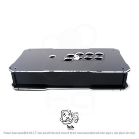 BNB Black Gloss Fightstick with Clear Artwork Panel