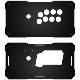 BNB Fightstick Gen 1 Black Matte Plexi Replacement Panel - Vewlix 8