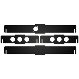 BNB Fightstick Gen 1 Black Matte Plexi Replacement Side Panels - 1.5 Inches