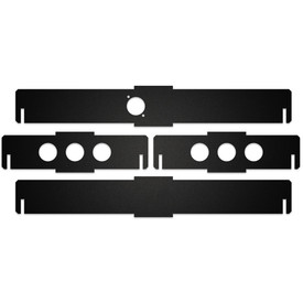 BNB Fightstick Gen 1 Black Matte Plexi Replacement Side Panels - 1.75 Inches