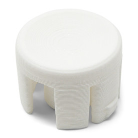 LayerShift RetroCaps 24MM Concave Plunger for OBS(X) - White