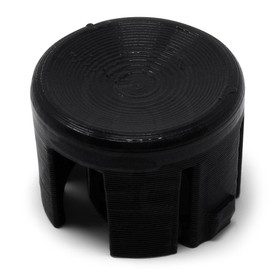 LayerShift RetroCaps 24MM Concave Plunger for OBS(X) - Black