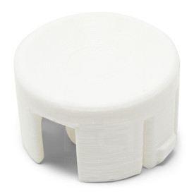 LayerShift RetroCaps 30MM Concave Plunger for OBS(X) - White