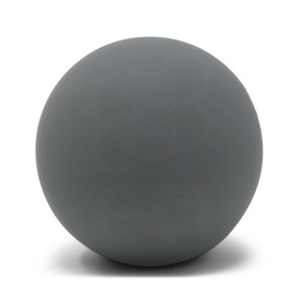 KINU Silky Touch Rubber Coated Balltop - Dark Hai
