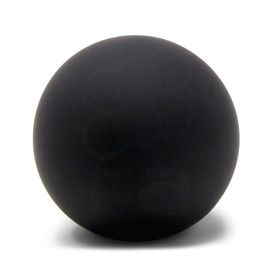 KINU Silky Touch Rubber Coated Balltop - Black