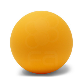 KINU Silky Touch Rubber Coated Balltop - Yellow
