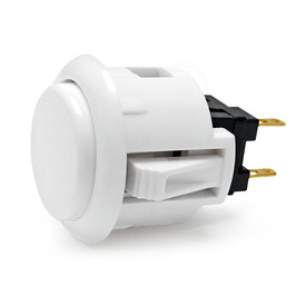 Sanwa OBSF 24mm Pushbutton White