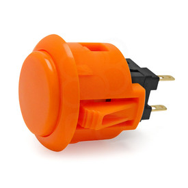 Sanwa OBSF 24mm Pushbutton Orange