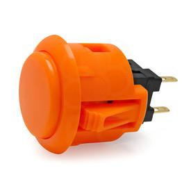 Sanwa OBSF 24mm Pushbutton Orange