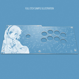 Custom Etch Plexi Cover for Qanba Pearl