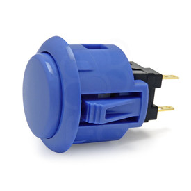 Sanwa OBSF 24mm Pushbutton Dark Blue
