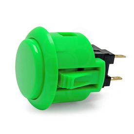 Sanwa OBSF 24mm Pushbutton Green
