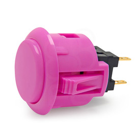 Sanwa OBSF 24mm Pushbutton Violet