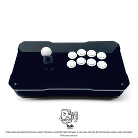 BNB Fightstick Gen 2 Black Gloss Plexi Kit