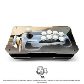 BNB Fightstick Gen 2 Black Gloss/Clear Plexi Kit