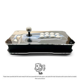 BNB Fightstick Gen 2 Black Matte/Clear Plexi Kit