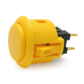 Sanwa OBSF 24mm Pushbutton Yellow